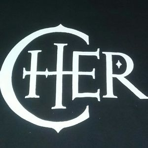 CHER Spell Out Logo Promo Shirt